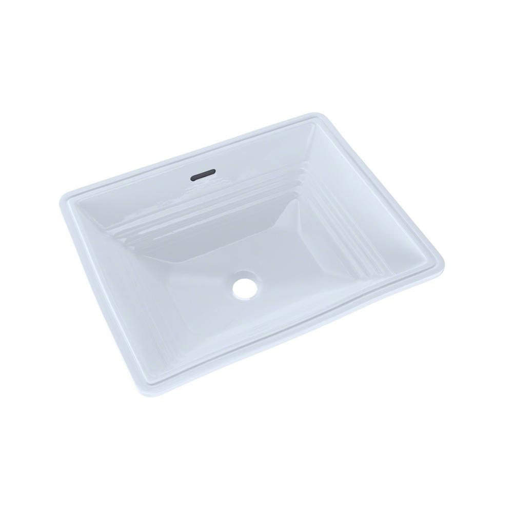 Toto Promenade 19 In Undermount Bathroom Sink In