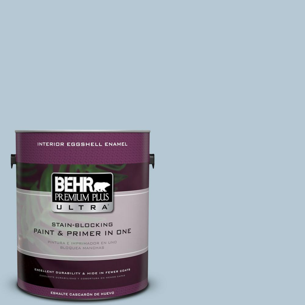 1 gal. #HDC-CT-16A English Hollyhock Eggshell Enamel Interior Paint