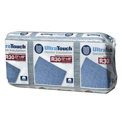 23 in. x 48 in. R30 Denim Insulation (8-Bags)