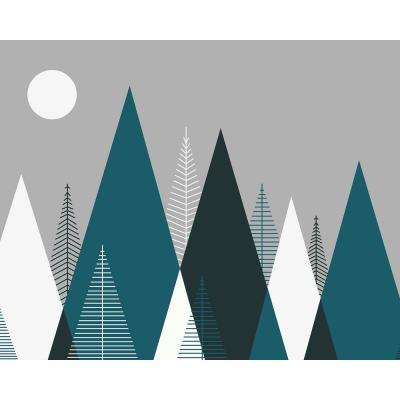 Mountain Scape Wall Mural