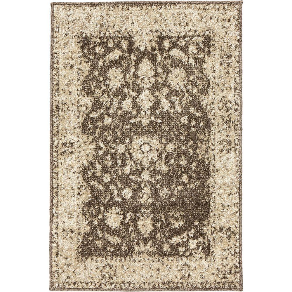 Home Decorators Collection Old Treasures Brown Cream 3 Ft X 5 Ft
