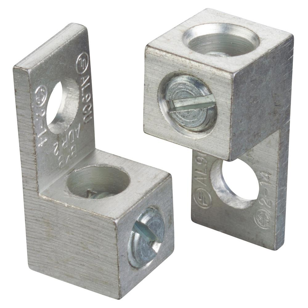 Blackburn #2 to #14 Dual Rated Mechanical Connector with Single Conductor Mount (10 Pieces)