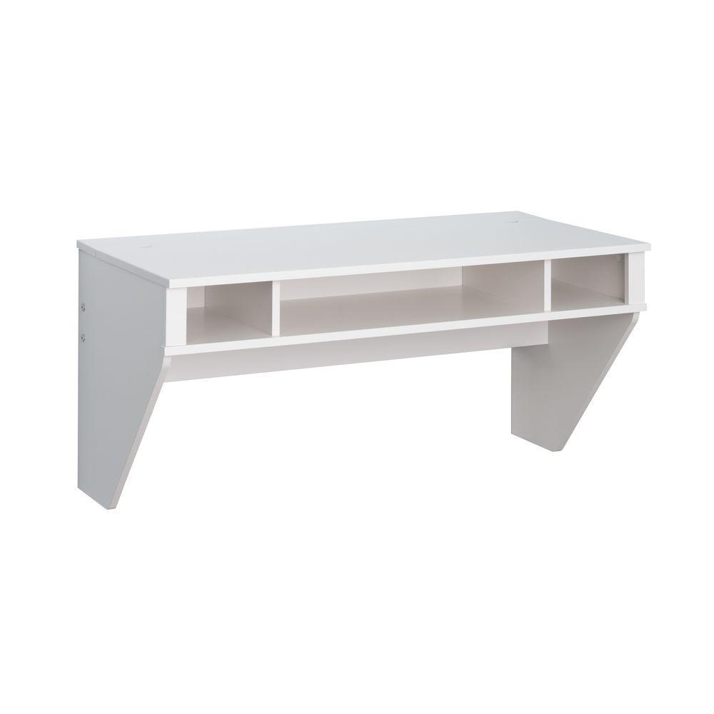 Prepac white Storage Desk WEHW-0500-1