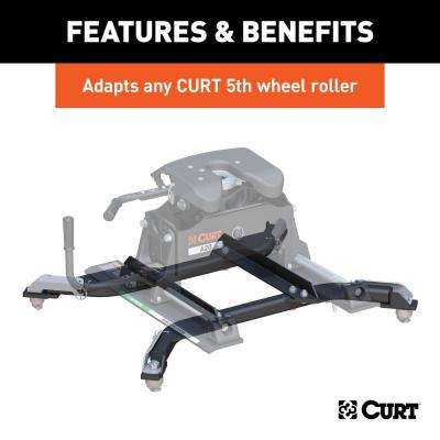 OEM Puck System 5th Wheel Roller Adapter for Ram