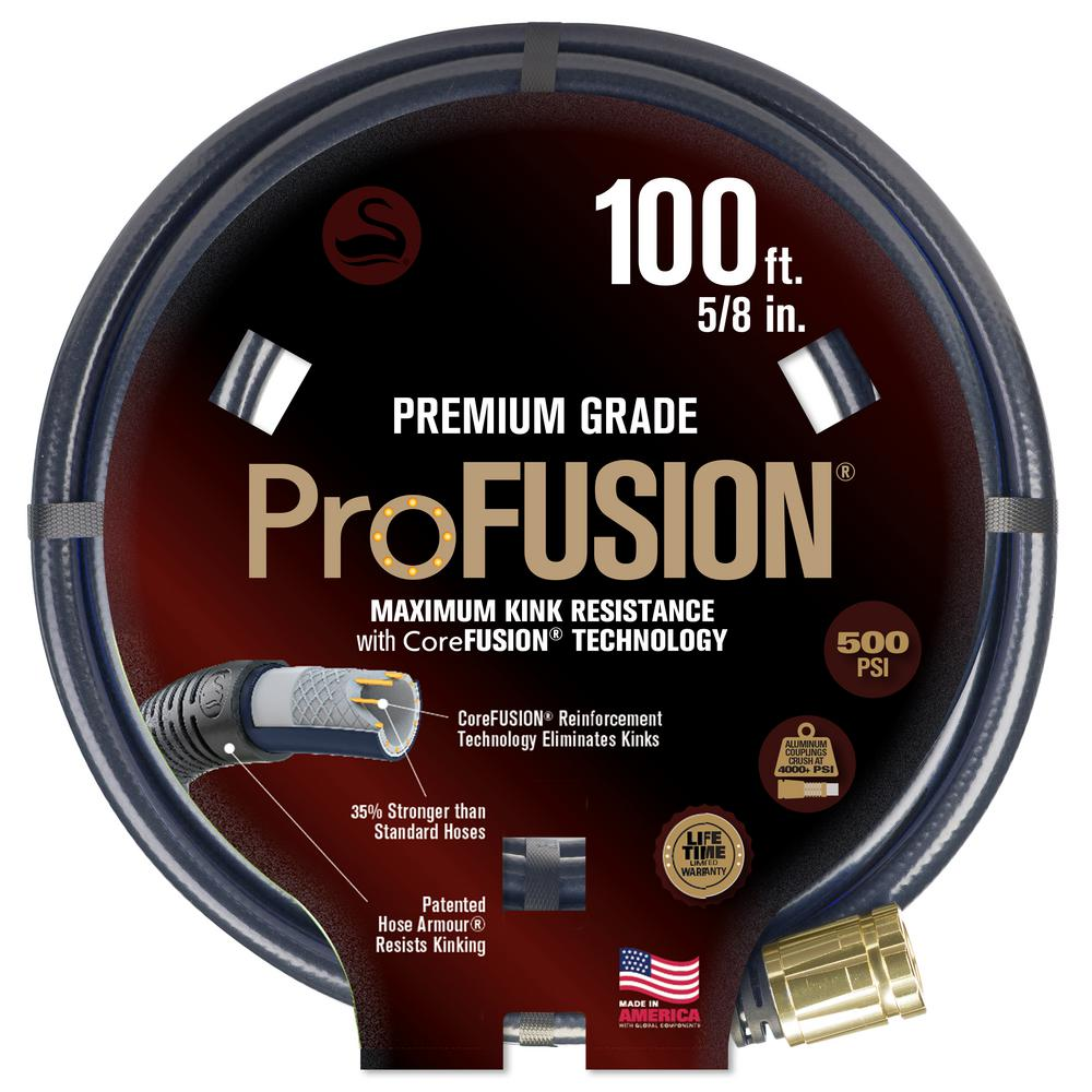 Swan ProFUSION 5/8 in. x 100 ft. Heavy-Duty Hose with CoreFUSION