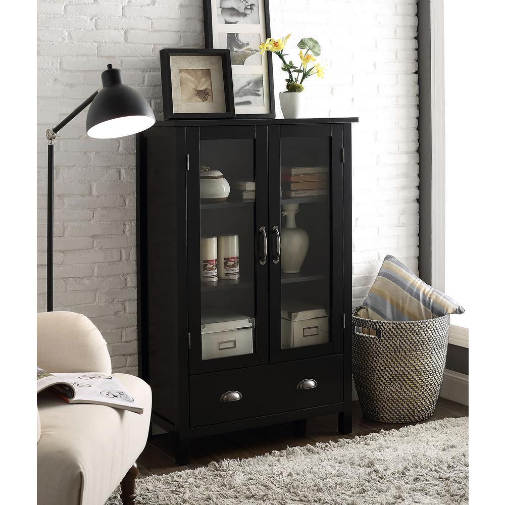 Olivia Black Storage Pantry