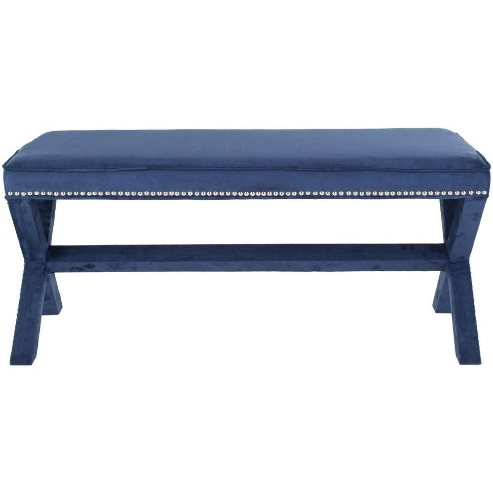 benches collection espresso kristin double drohan x stool ottomans bench and the