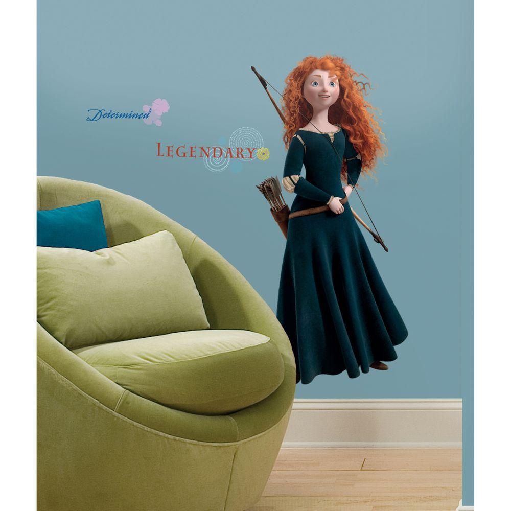 RoomMates Brave - Merida Giant Peel and Stick Wall Decals