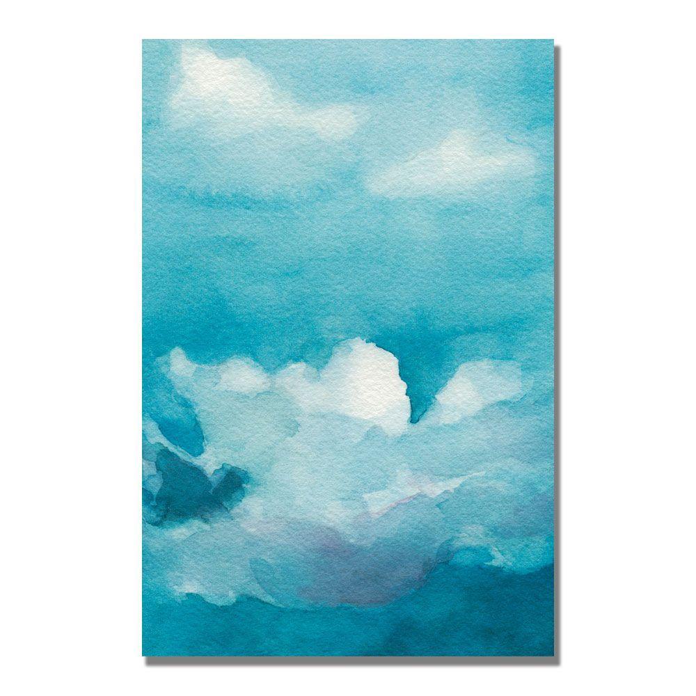 Trademark Fine Art 22 in. x 32 in. Clouds Canvas Art-DISCONTINUED