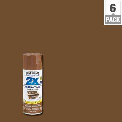 12 oz. Chestnut Gloss General Purpose Spray Paint (6-Pack)