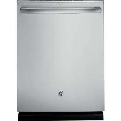 Adora Top Control Dishwasher in Stainless Steel with Stainless Steel Tub and Steam Prewash