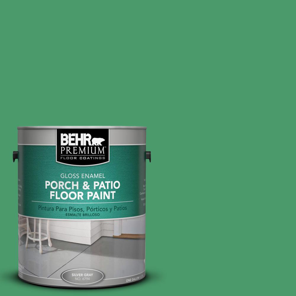 1 gal. #P410-6 Solitary Tree Gloss Porch and Patio Floor Paint