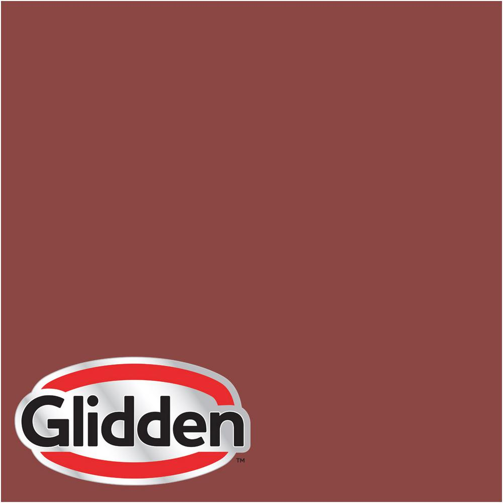 Hdgr64 Rusty Red Flat Interior Paint Sample