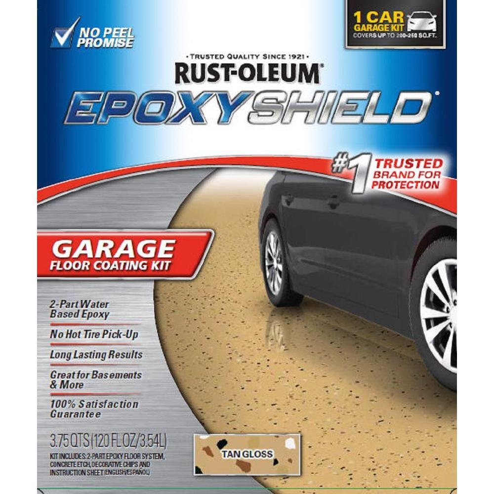 Rust Oleum Epoxyshield 120 Oz Tan High Gloss Low Voc One