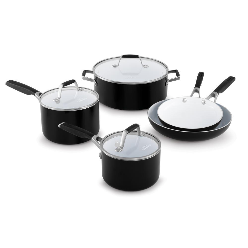 Select 8-Piece Ceramic Nonstick Cookware Set
