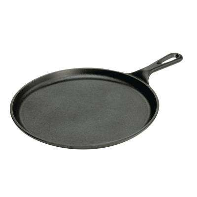 10.5 in. Round Cast Iron Griddle