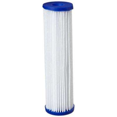 R30 9-3/4 in. x 2-5/8 in. Pleated Polyester Water Filter