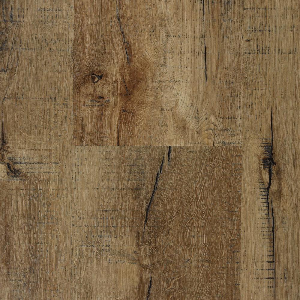 Burlap 7 in. x 48 in. Floating Vinyl Plank Flooring (24.30 sq. ft. / case)
