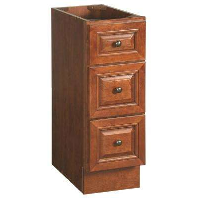 Montclair 12 in. Base Cabinet Only in Chestnut Glaze