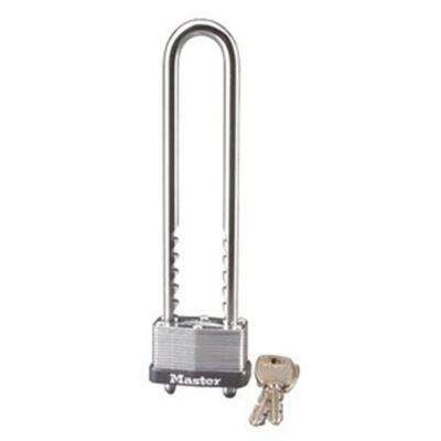 1-3/4 in. Laminated Steel Warded Padlock with Removable and Adjustable Shackle