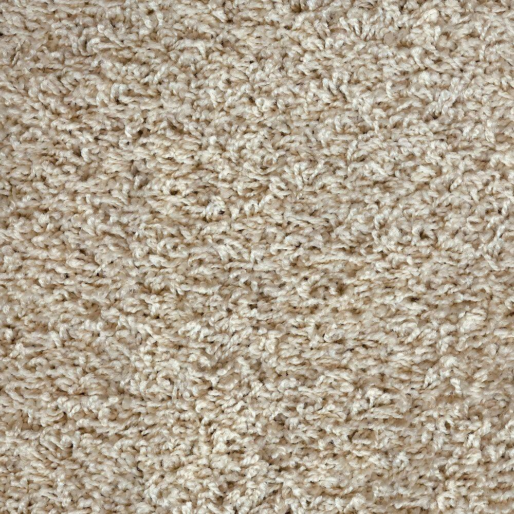 Simply Seamless Paddington Square 402 Cream & Sugar 24 in. x 24 in. Residential Carpet Tiles (10 Tiles/case)