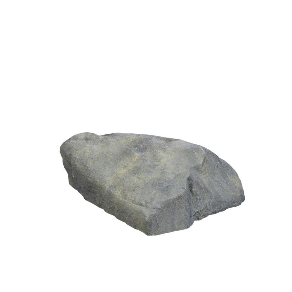 31.5 in. x 23.5 in. x 11.5 in. Gray Long Landscape Rock