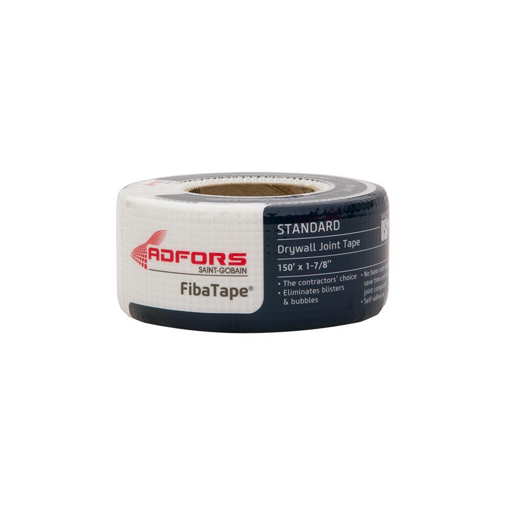 FibaTapeStandard White 1-7/8 in. x 150 ft. Self-Adhesive Mesh Drywall Joint Tape