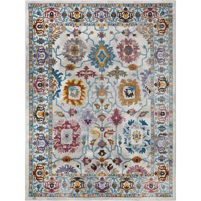 Parlin Naomie Ivory 7 ft. 9 in. x 9 ft. 5 in. Indoor Area Rug