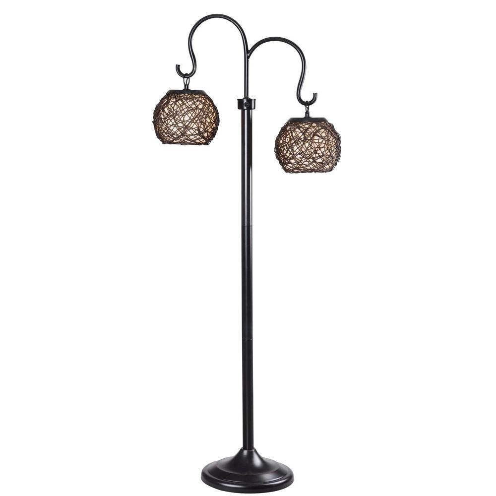 Kenroy Home Castillo 63 In. Bronze Outdoor Floor Lamp