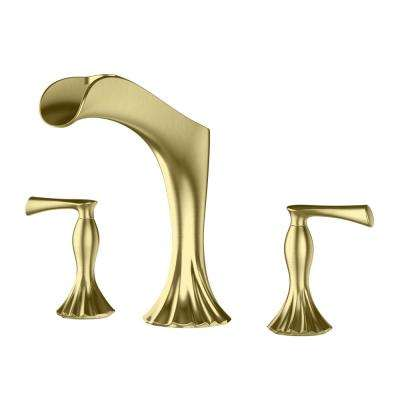 Brushed Gold - Plumbing - The Home Depot