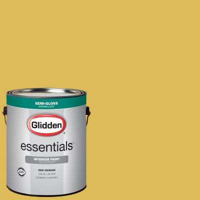 1 gal. #HDGY53 Extra Virgin Olive Oil Semi-Gloss Interior Paint