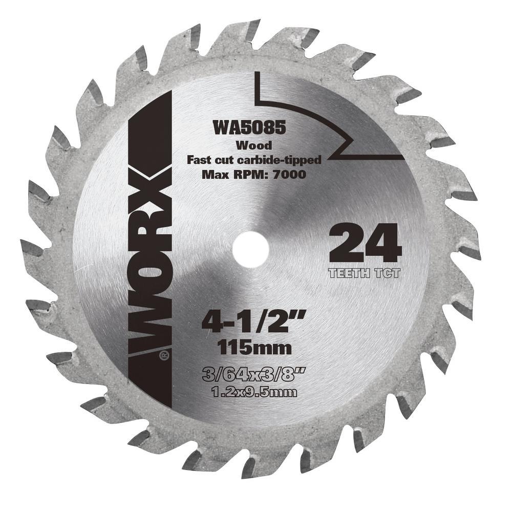 "Carbide Tipped Saw Blade 5-3//8/"" 5-1//2/"" Diameter 30 ToothCircular Saw Blade"