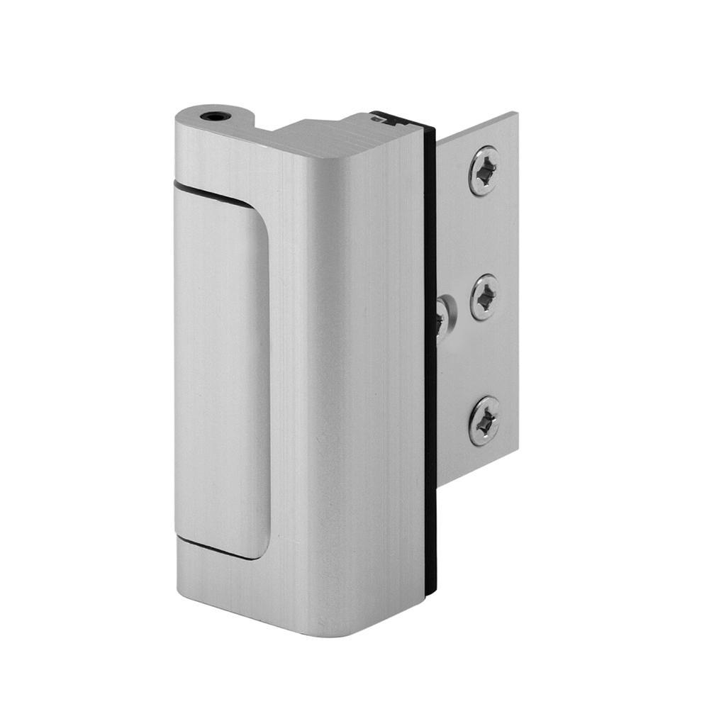 Home Security Defender Security U Door Reinforcement Lock Black,Easy Install