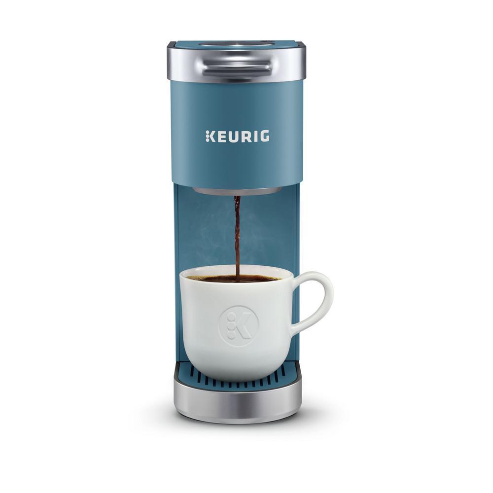 K-Mini Plus Evening Teal Single Serve Coffee Maker
