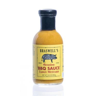 13.5 oz. Tangy Mustard BBQ Sauce (3-Pack)