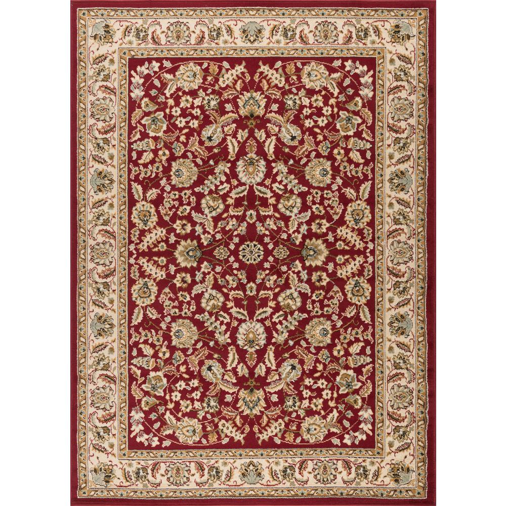 tayse rugs laguna red 9 ft 3 in x 12 ft 6 in indoor area rug 5070 red 9x13 the home depot. Black Bedroom Furniture Sets. Home Design Ideas