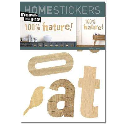 Multicolor 100 % Nature Home Sticker