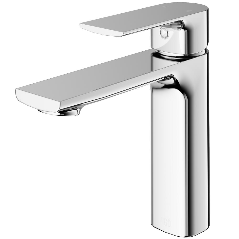 VIGO Davidson Single Hole Single-handle Bathroom Faucet in Chrome