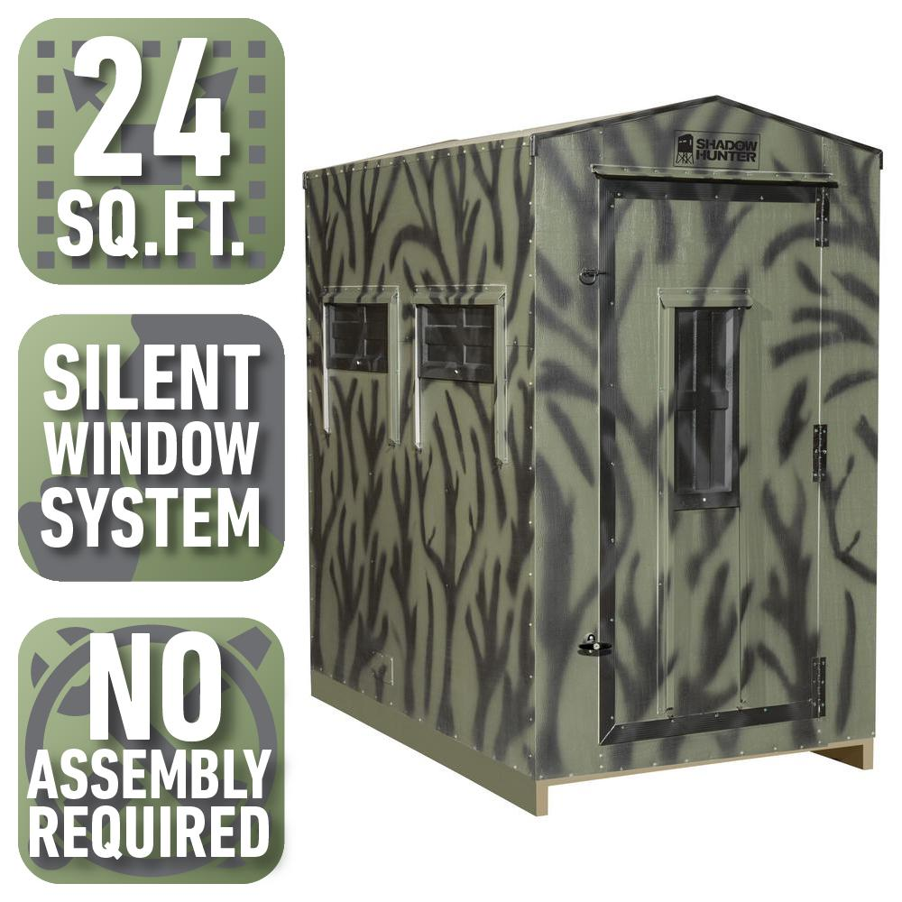 4 ft. x 6 ft. Insulated Gun and Bow Hunting Blind