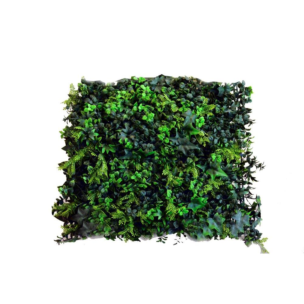 Greensmart Decor 20 In X 20 In Artificial Moss Wall Panels Set Of