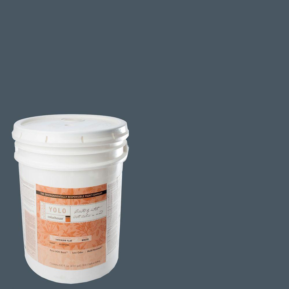 YOLO Colorhouse 5-gal. Wool .06 Flat Interior Paint-DISCONTINUED