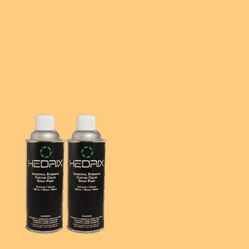 Hedrix 11 oz. Match of 290B-5 Torchlight Gloss Custom Spray Paint (2-Pack)