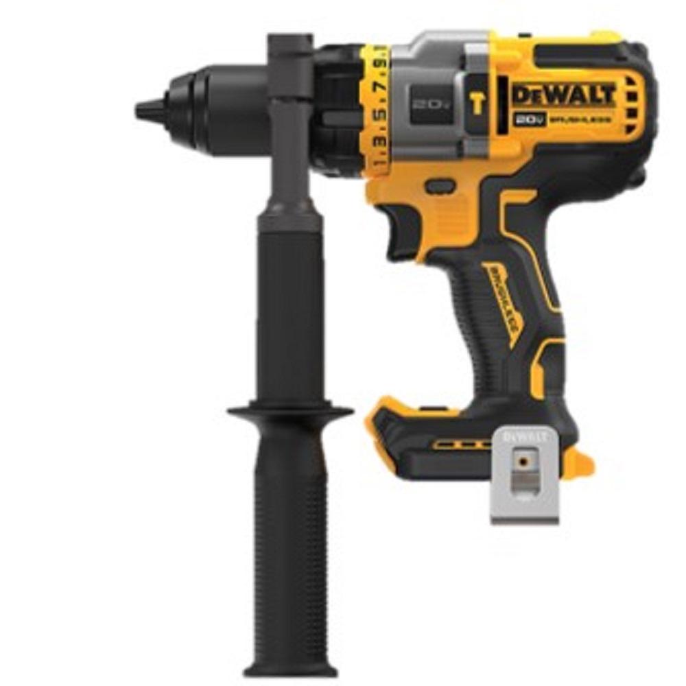 DEWALT 20-Volt MAX Lithium Ion Cordless Brushless 1/2 inch Hammer Drill/Driver w/ FLEXVOLT ADVANTAGE (Tool Only)