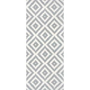 Hand Tufted Kellee Grey 2 ft. 8 in. x 10 ft. Runner
