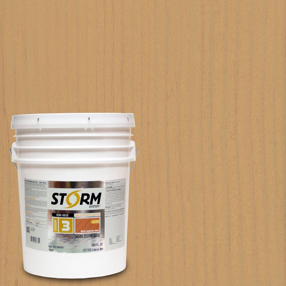 Storm System Category 3 5 gal. Marshview Exterior Semi-Solid Dual Dispersion Wood Finish