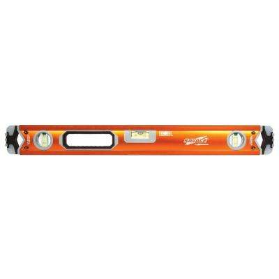 24 in. Professional Box Beam Level with Gelshock End Caps