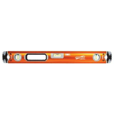 60 in. Professional Box Beam Level with Gelshock End Caps