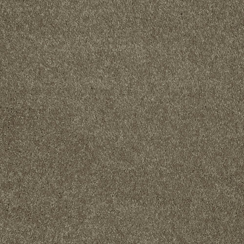 Carpet Sample - Slingshot III - In Color Tree Bark 8 in. x 8 in.