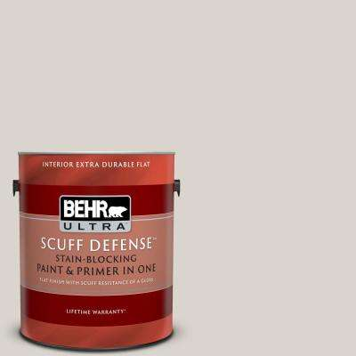 1 gal. Home Decorators Collection #HDC-MD-21 Dove Extra Durable Flat Interior Paint and Primer