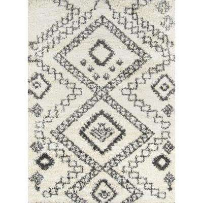 Grey 20 x 30 Momeni Rugs LUXE0LX-11GRY2030 Luxe Collection Area Rug